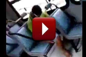 Dormindo no ônibus