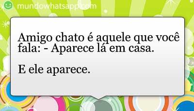 Amigo Chato Status E Imagens
