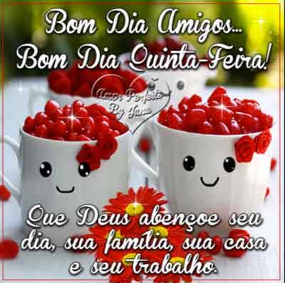 Bom Dia Quinta Feira Status E Imagens