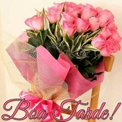 Resultado de imagem para imagem de boa tarde com rosas