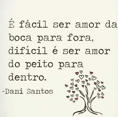 Amor Da Boca Pra Fora Status E Imagens