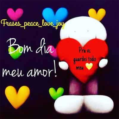 Bom Dia Meu Amor Status E Imagens