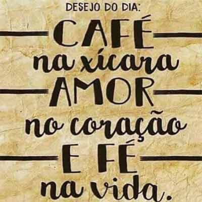 Café Amor E Fé Status E Imagens