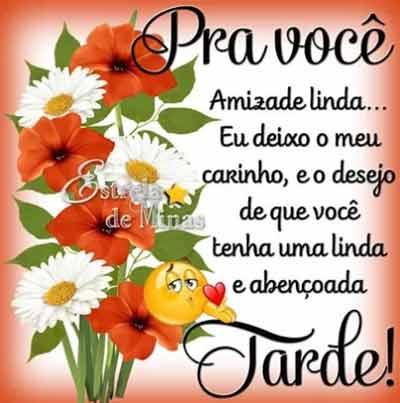 Imagem Boa Tarde flores