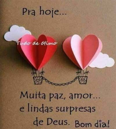 Muita Paz Amor E Lindas Surpresas Status E Imagens